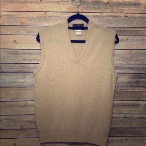 J.Crew 100% Lambswool vintage vest